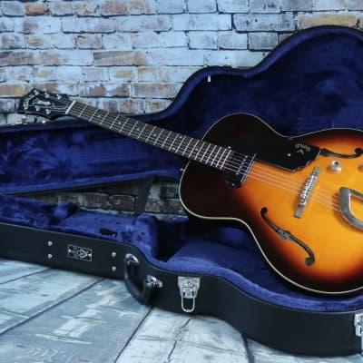 Guild  Newark St. Collection T-50 Slim Hollowbody Archtop Electric Guitar-w/HSC for sale