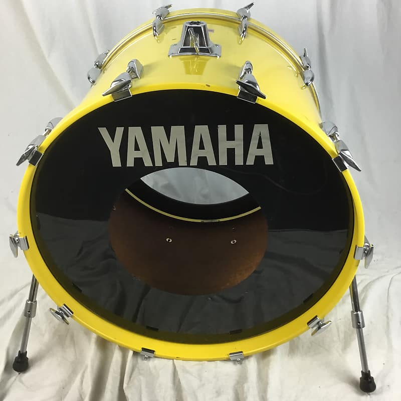 yamaha turbo tour 18x24 yellow lacquer bass drum reverb. Black Bedroom Furniture Sets. Home Design Ideas
