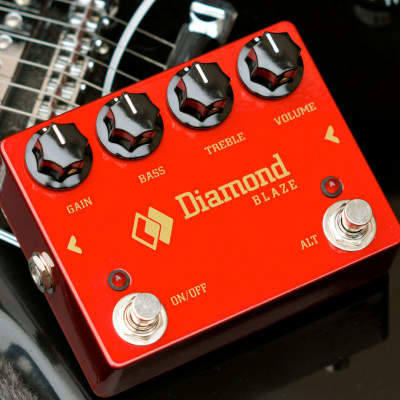 Diamond Pedals Blaze BLZ1 Distortion Guitar Effect Pedal
