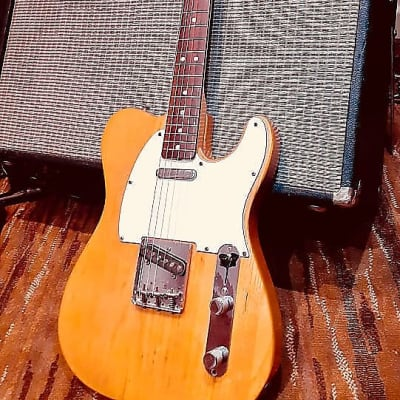 Fender Telecaster, 1974,  Natural, 100% Original with OEM Case, Pristine, Free World Wide Shipping