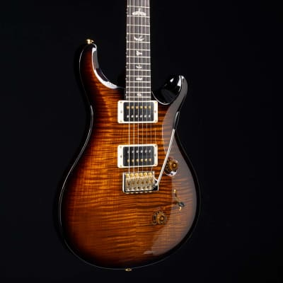 PRS 2019 Custom 24 10 Top Black Gold Wrap Burst Hybrid Package 9500