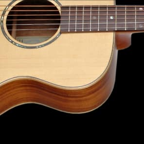 Teton STG170ENT Spruce/Koa Grand Concert with Electronics Natural