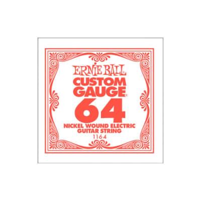 Ernie Ball Nickel Wound Single String 064