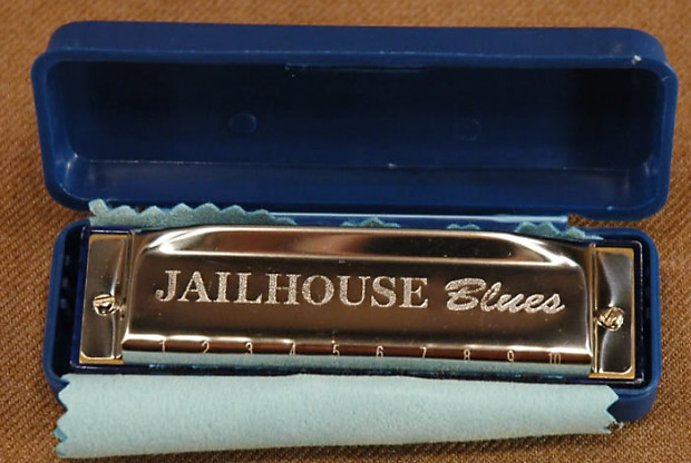 New Jailhouse Blues Harmonica, Key of F | Dale's Gear | Reverb