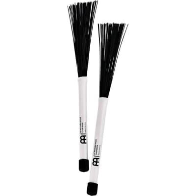 Meinl SB304 Retractable Nylon Cajon Brush Pair