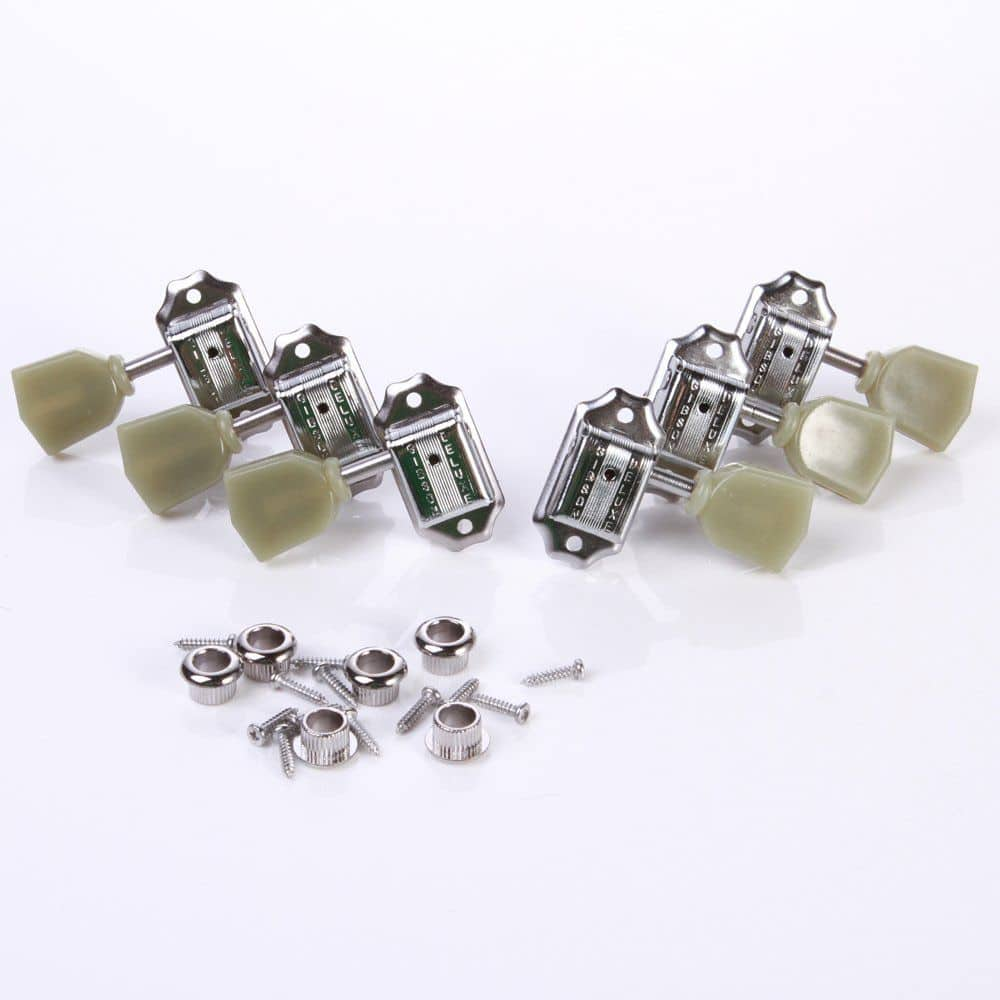 gibson deluxe 3 3 kluson style nickel guitar tuners for les reverb. Black Bedroom Furniture Sets. Home Design Ideas