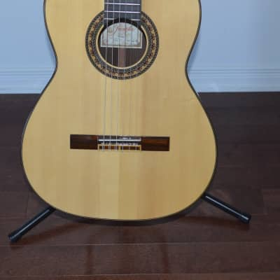 Prudencio Saez G-9 All solid woods Rosewood B&S spruce top unpayed Like new for sale