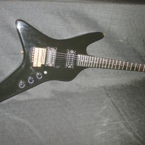 Kramer Challenger Aluminum Neck Guitar 1981 Black for sale
