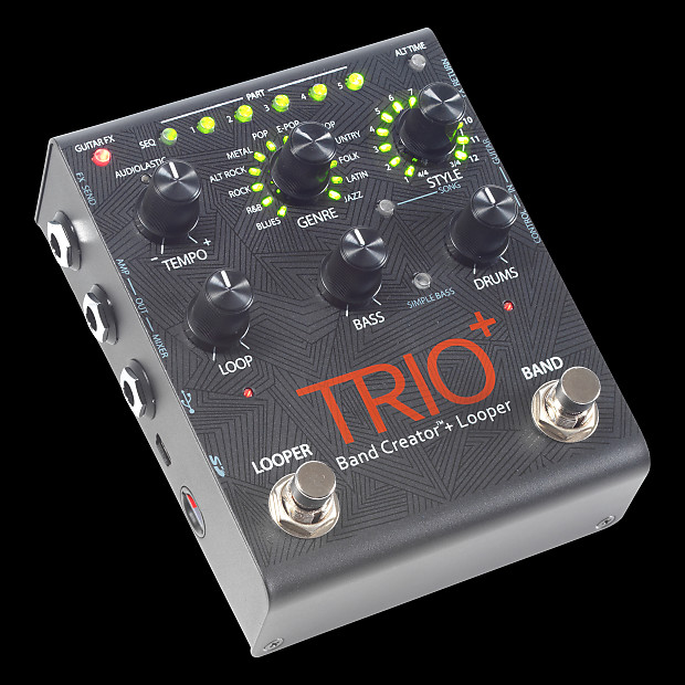 digitech trio plus band creator and looper pedal alto music reverb. Black Bedroom Furniture Sets. Home Design Ideas