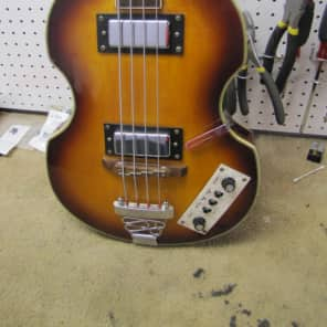 Jay Turser Violin Bass Sunburst for sale
