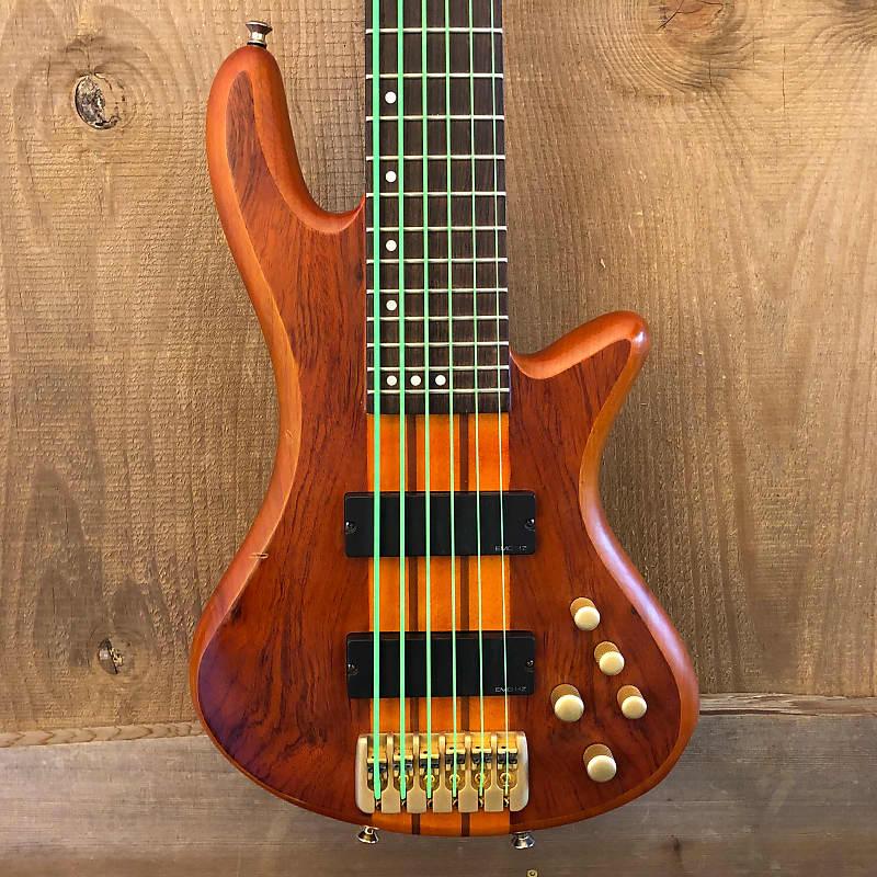 Schecter Diamond Series Stiletto Studio-6 Active 6-String Bass Honey Satin 2006
