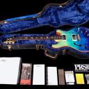 2018 Paul Reed Smith PRS Hollowbody I Wood Library 10 Top w Brazilian Fretboard & Piezo ~ Blue Fade