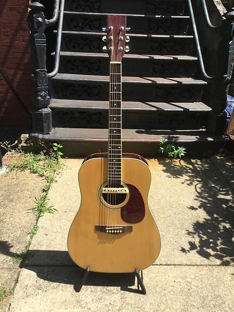 Marlboro Miles Guitar (Marlboro Martin) D-28 Copy 90's