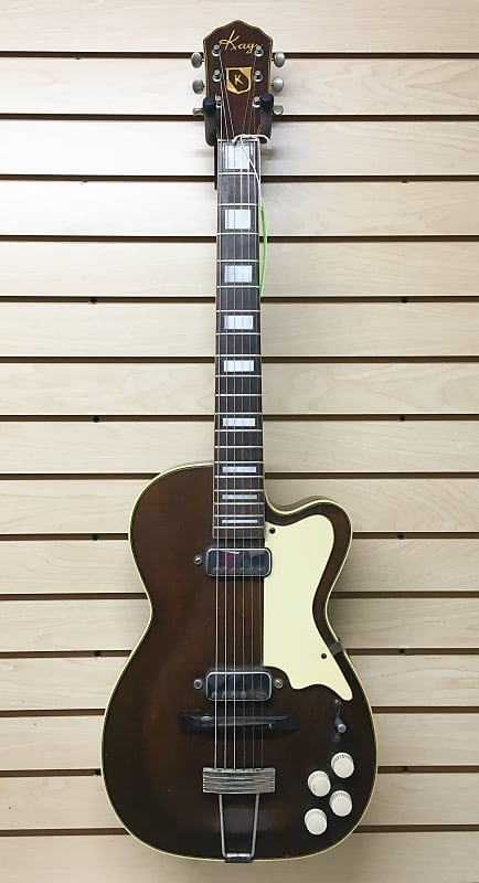 Kay Pro 172 H Thinline Archtop Electric Guitar 1956 Reverb