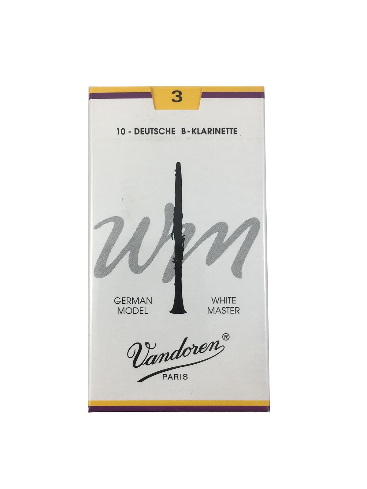 Vandoren Clarinet Reeds German Cut 10 Pack