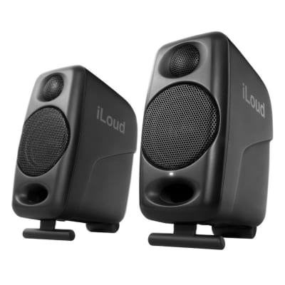 IK Multimedia iLoud Micro Monitors Pair with Bluetooth