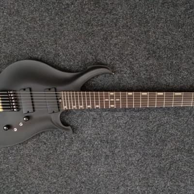 KOLOSS X7 headless Aluminum body 7 string electric guitar black for sale