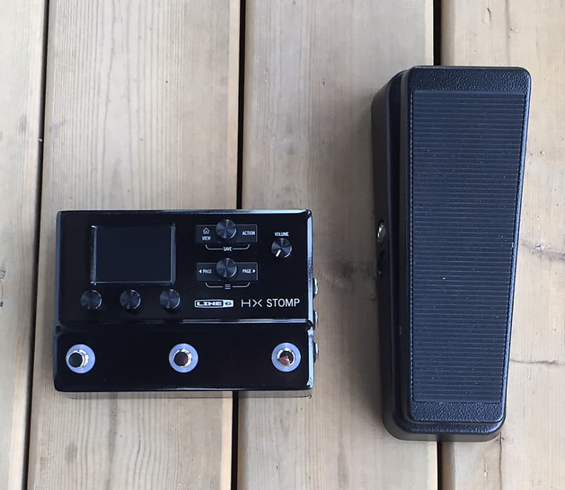Line 6 HX Stomp + Mission expression pedal | GoGreen! Music