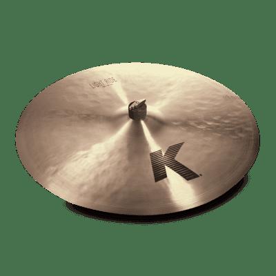 """Zildjian K0834 24"""" K Zildjian Light Ride Cymbal w/ Video Link"""