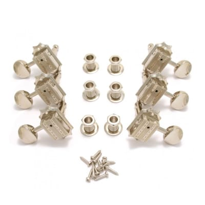 Grover 136N Vintage Machine Heads - 3 a side - Nickel for sale