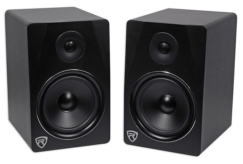 2 rockville apm8b 8 250w powered usb studio monitor reverb. Black Bedroom Furniture Sets. Home Design Ideas
