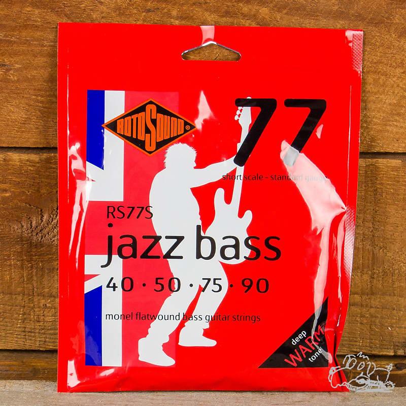 rotosound short scale standard gauge 40 90 jazz bass reverb. Black Bedroom Furniture Sets. Home Design Ideas