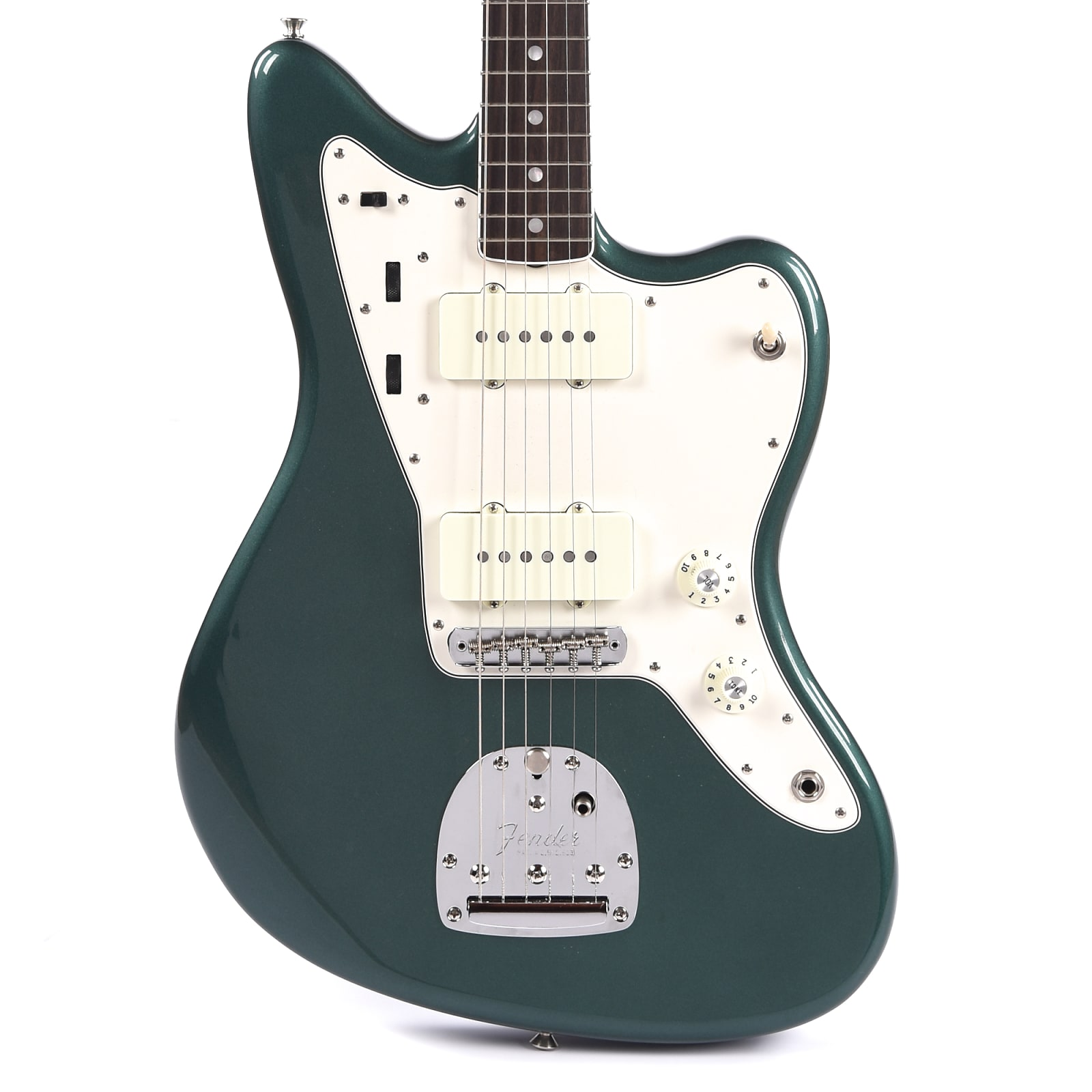 Fender American Original Jazzmaster Sherwood Green Metallic w/Painted Headcap (CME Exclusive)