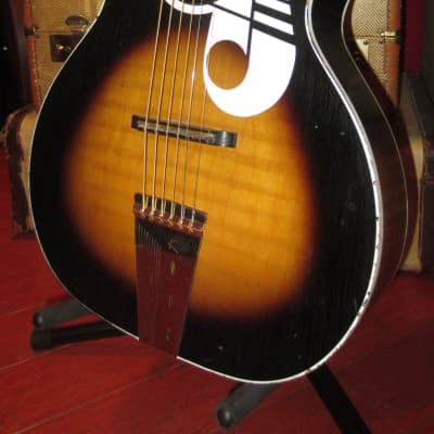 Vintage 1963 Kay Parlor Guitar Sunburst for sale