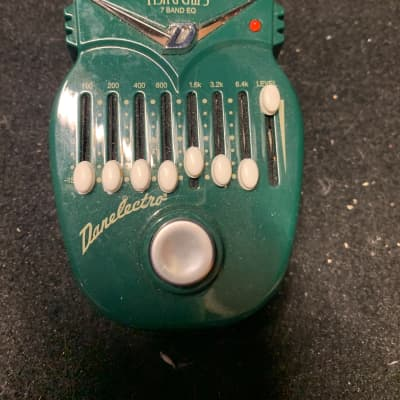 Danelectro Fish & Chips 7 band eq 2019 green for sale