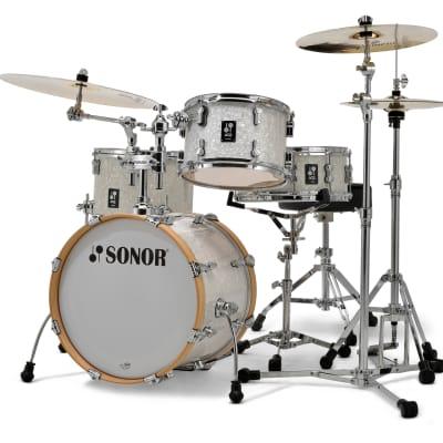 Sonor AQ2 Maple Bop Kit 4pc Shell Pack - White Marine Pearl
