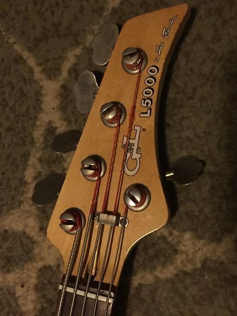 g l l5000 5 string bass 1988 vintage rare headstock reverb. Black Bedroom Furniture Sets. Home Design Ideas