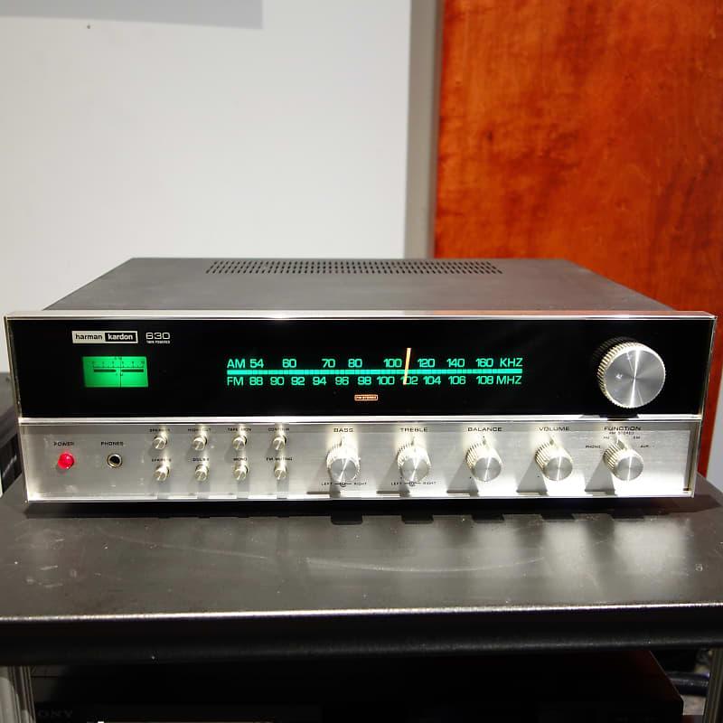 Harmon Kardon 630 Twin Power Stereo Receiver - 30 Watts Per Channel
