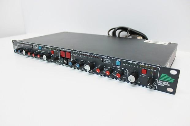 Bss Dpr-402, Dual Channel Channel Compressor, Limiter, De-esser! Nice Shape!