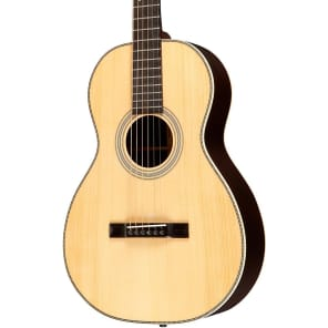 Recording King RP1-327 All Solid Adirondack Top Schoenberg Single-0 Natural Gloss