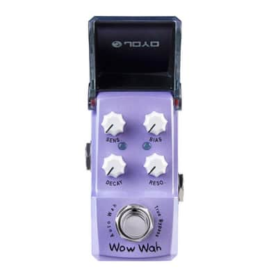 JOYO JF-322 Wow Wah Auto Wah - Guitar Effects Pedal Ironman for sale