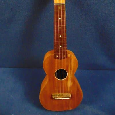 Harmony Roy Smeck  Soprano Ukulele 1950's Brown Mahogany