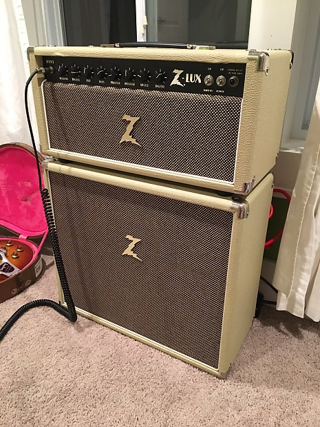 Dr. Z Z lux Head And Matching Dr. Z Cabinet! Blonde and Tan! | Reverb