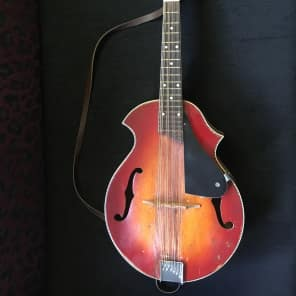 Old Kraftsman Mandolin 40's ? 2-Color Sunburst w/ Maple Fretboard for sale