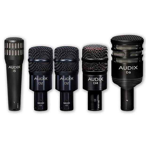 audix dp5a professional 5 piece drum mic package reverb. Black Bedroom Furniture Sets. Home Design Ideas