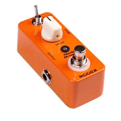 Mooer Ninety Orange Analog Phaser Mini Pedal for sale