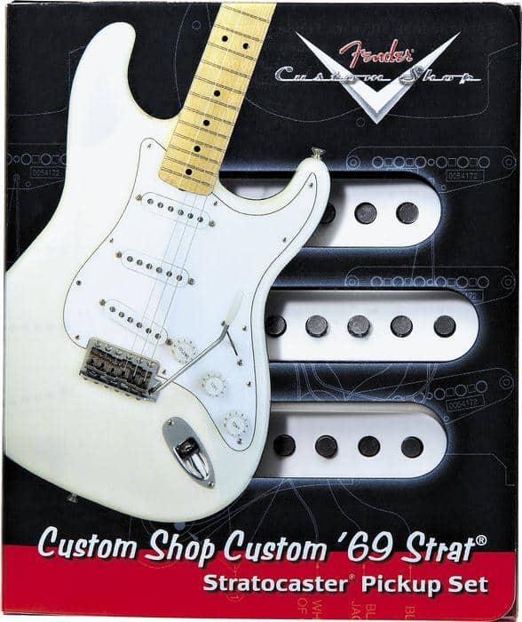 Fender Custom Shop  U0026 39 69 Strat Pickup Set  0992114000