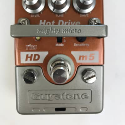 Guyatone Mighty Micro HDm5 Hot Drive Distortion Pedal for sale