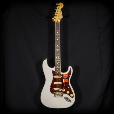 2018 Limited Edition Fender American Professional Stratocaster Channel Bound White Blonde wHard Case for sale