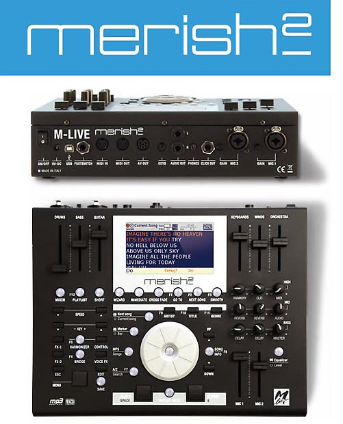 Merish2 Backing Track Player MIDI File & MP3