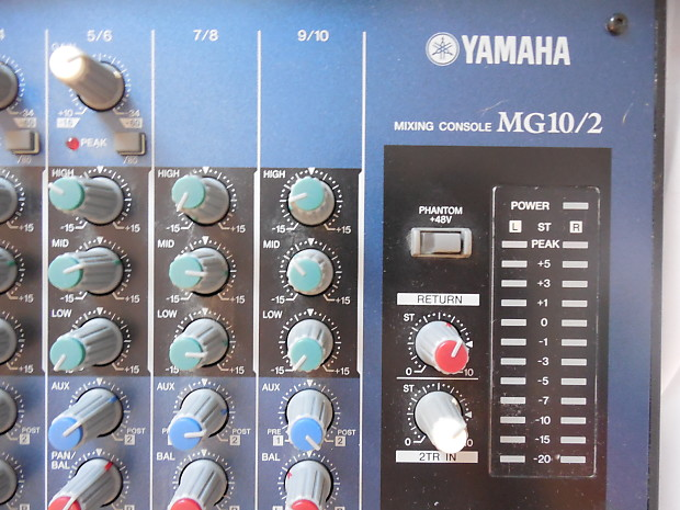 yamaha mg10 2 analog mixer with power supply small format. Black Bedroom Furniture Sets. Home Design Ideas
