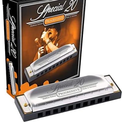 Hohner 560PBX-CSHARP Progressive Series 560 Special 20 Harmonica - Key of C#/Db