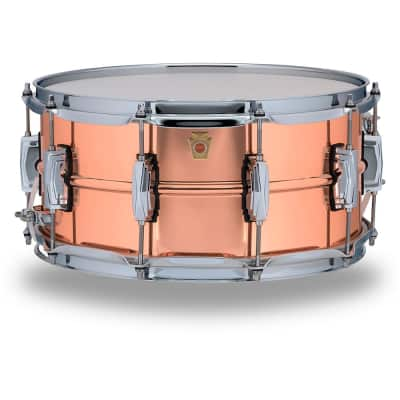 "Ludwig LC662 Copper Phonic 6.5x14"" Snare Drum"
