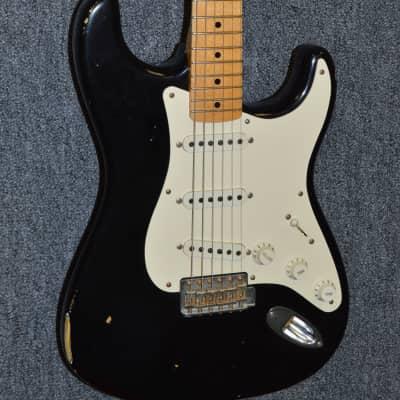 2007 Fender Custom Shop '56 Relic Stratocaster - Black for sale