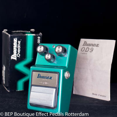 Ibanez OD-9 Overdrive 1982 s/n 261417 Japan
