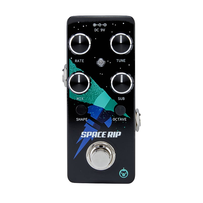 Pigtronix PWM Space Rip Analog PWM Synthesizer Micro Effects Pedal